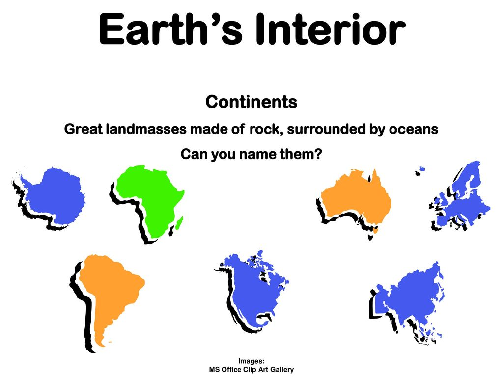 Earth's Interior Image:.