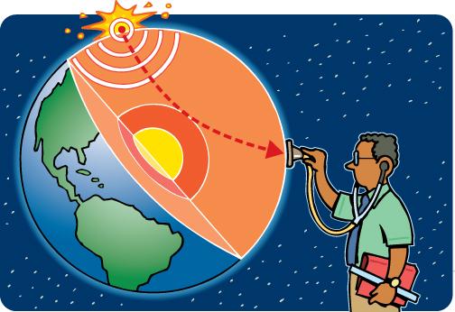 Geosciences: Visualizing the Earth's Interior.
