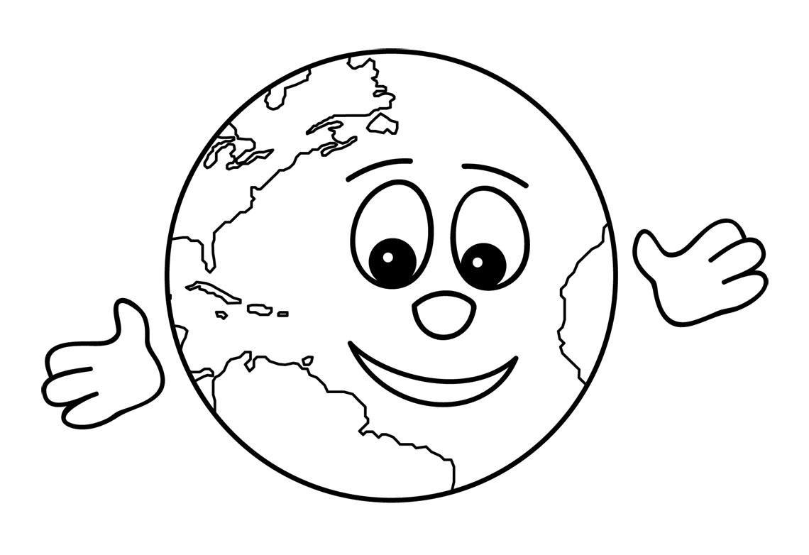 cute earth clipart #2