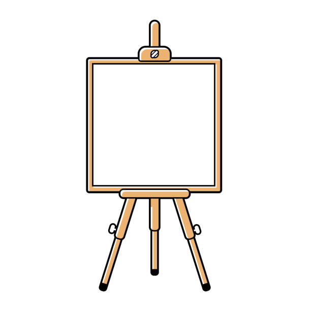 Best Easel Clipart Illustrations, Royalty.