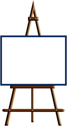 Clipart easel.