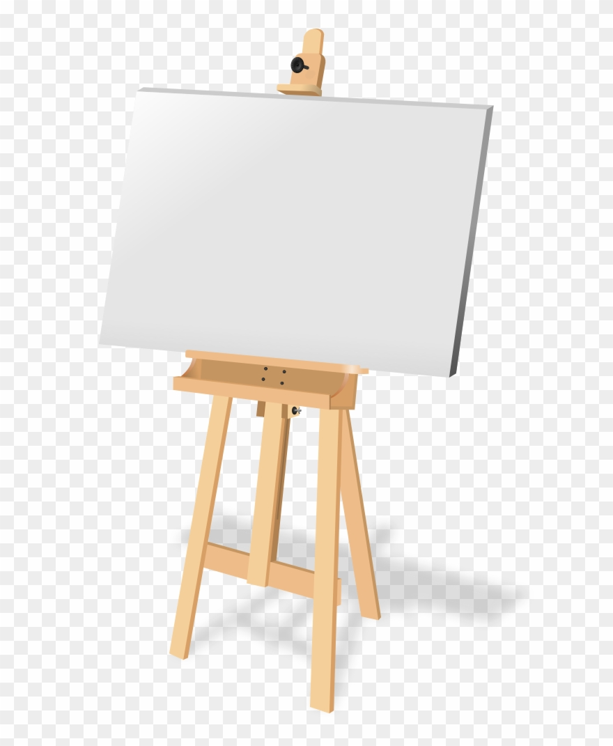 Free To Use &, Public Domain Easel Clip Art.
