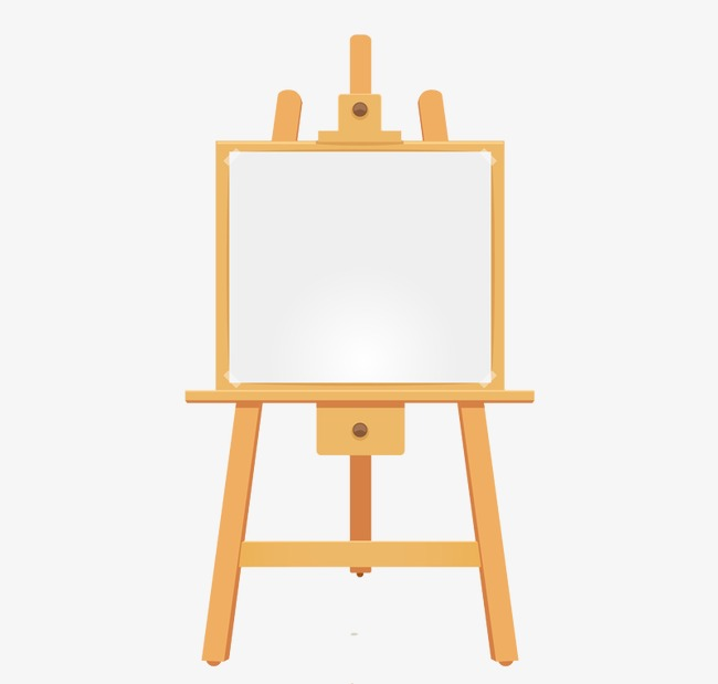 Download Free png Wooden Easel, Easel, Wood, Cartoon PNG and Vector.