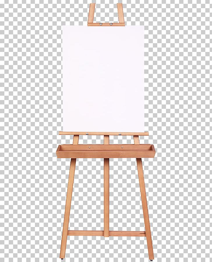 Easel Painting Canvas Artist Wood PNG, Clipart, Angle, Art, Chair.