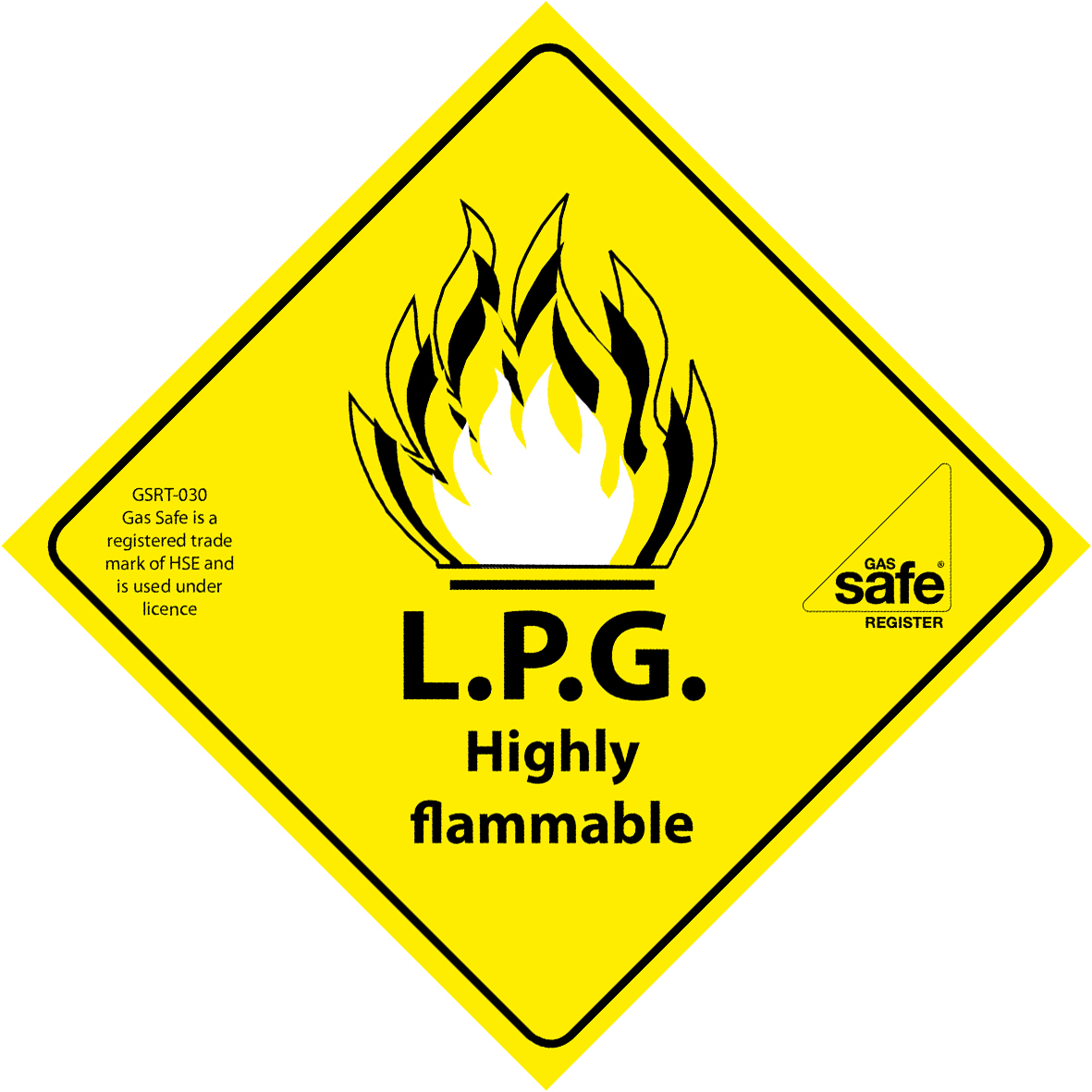 Flammable Logo.