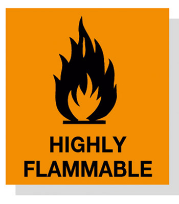 Flammable Symbol.