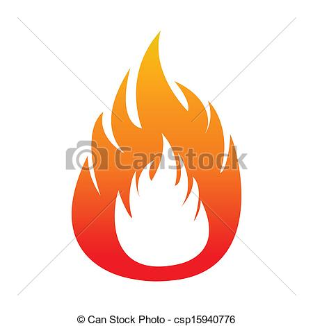Vectors Illustration of Flammability sign. Extremely unstable.