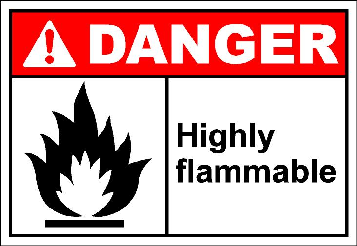 Easily Flammable Clipart
