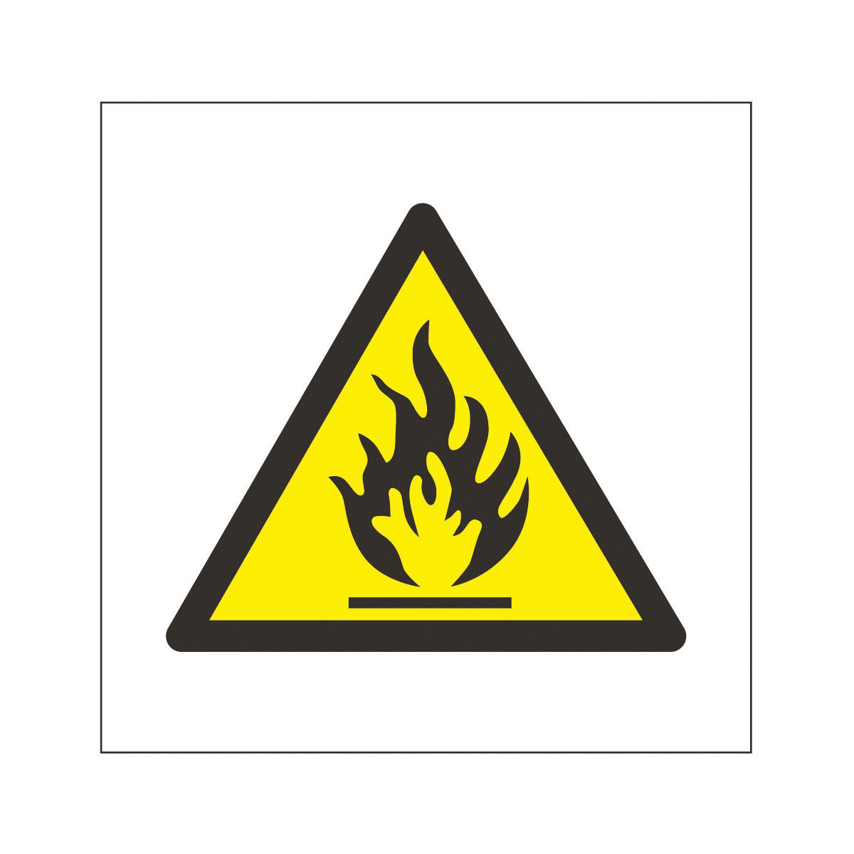 Highly Flammable Logo.