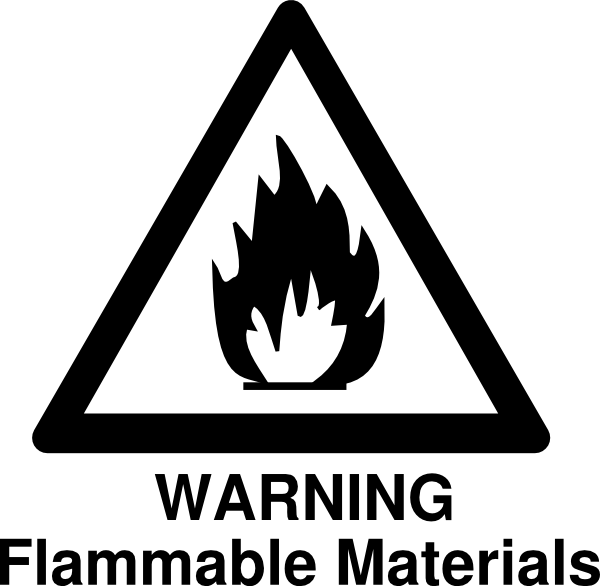 Flammable Warning Clip Art at Clker.com.