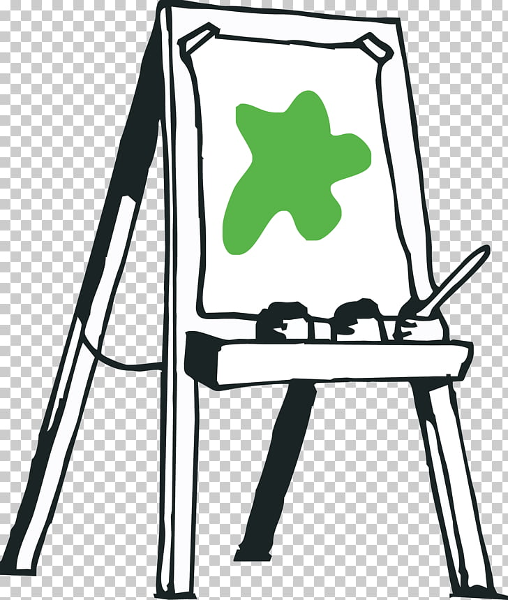 Easel Painting Artist , painting PNG clipart.