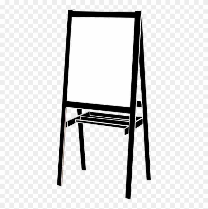 28 Collection Of Writing Easel Clipart.