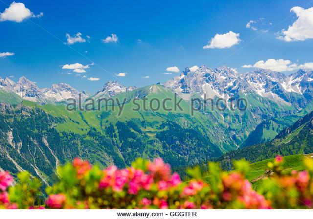 Trettachspitze Peak Stock Photos & Trettachspitze Peak Stock.