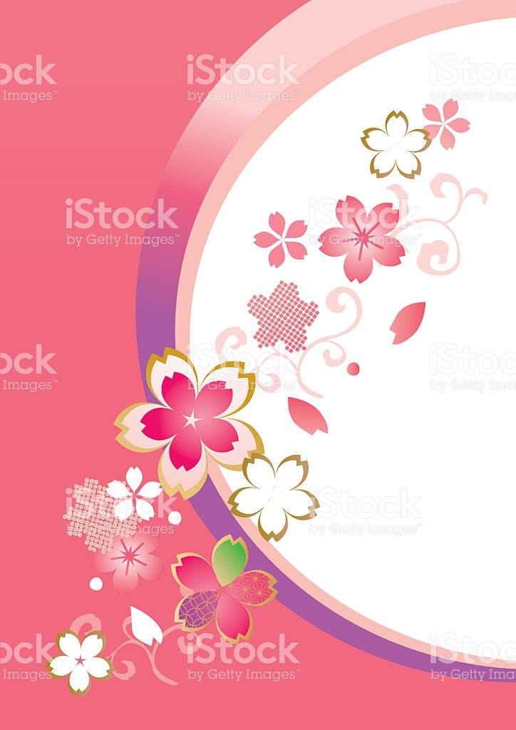 Beautiful Cherry Blossoms Of Japan stock vector art 510220238.