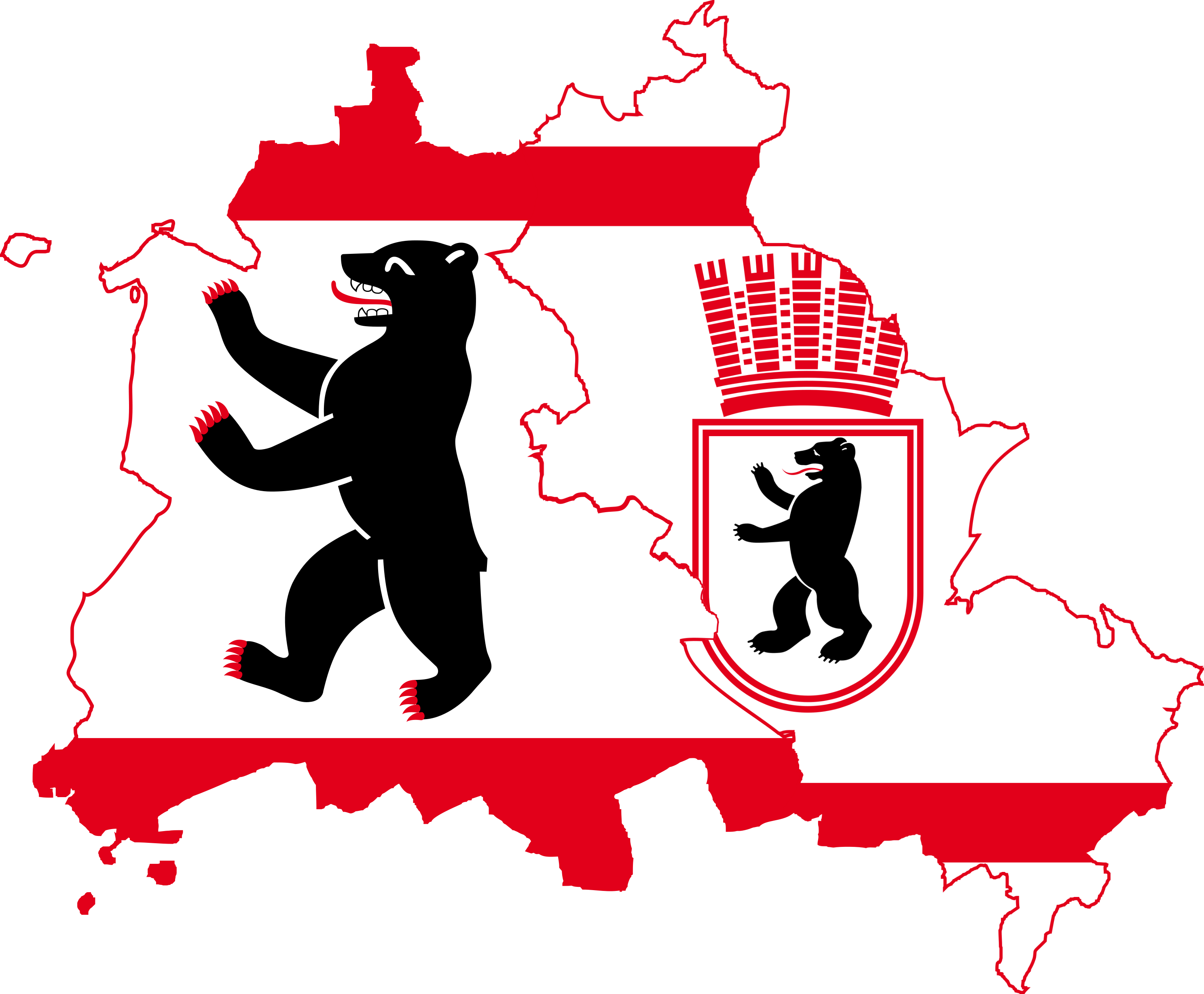 File:Flag Map of West & East Berlin (1948.