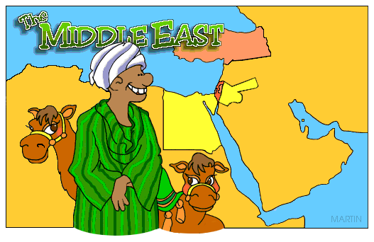 Middle east clip art.