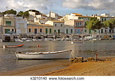 Stock Photography of Mallorcan Harbour k3210140.