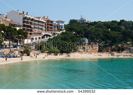 Porto Cristo Street Beach East Coast Stock Photo 54399532.
