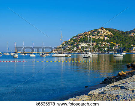 Pictures of Puerto Andratx, Mallorca k6535578.