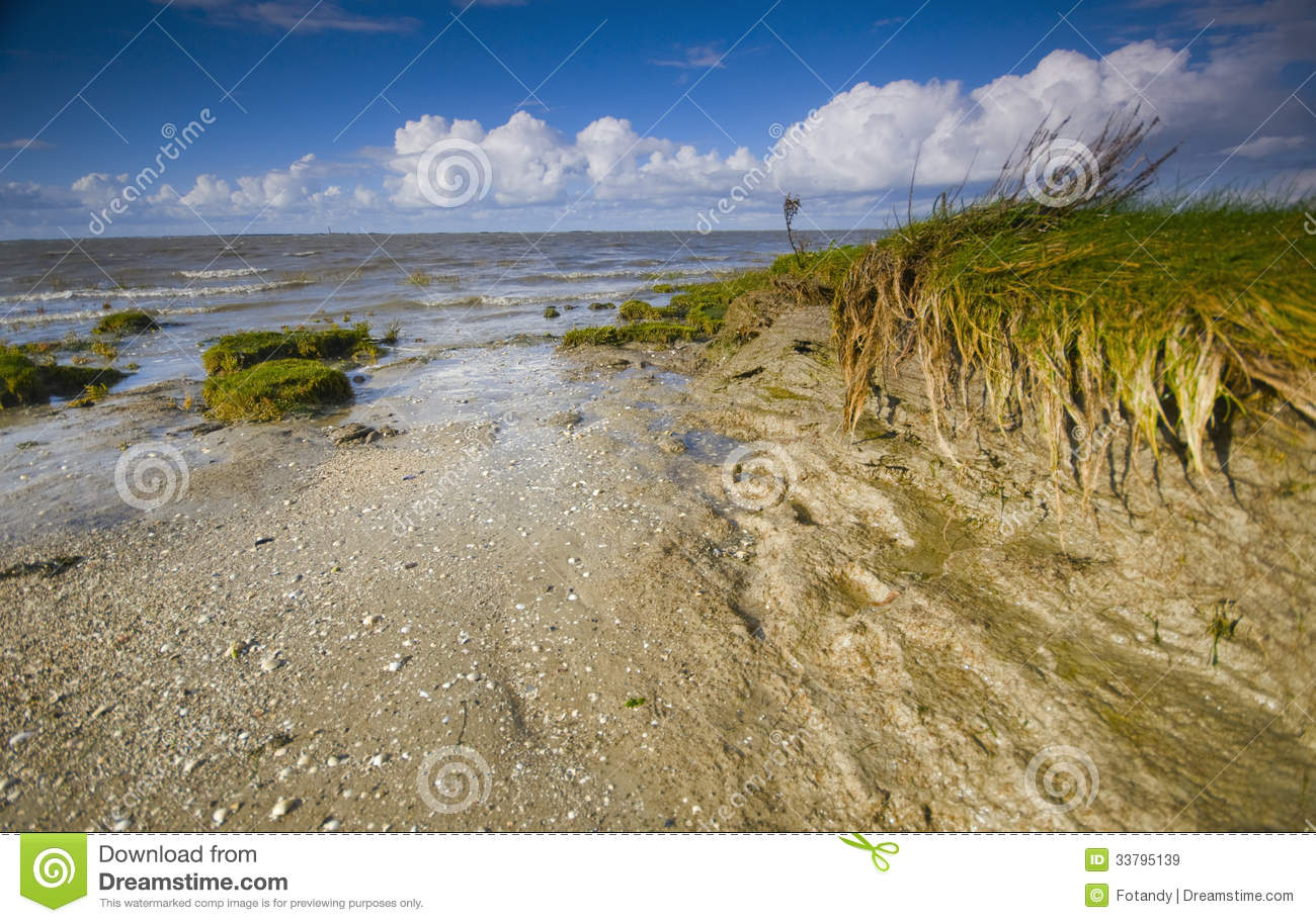 Late Summer In East Frisia Royalty Free Stock Images.