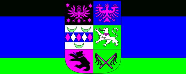Flag of East Frisia.