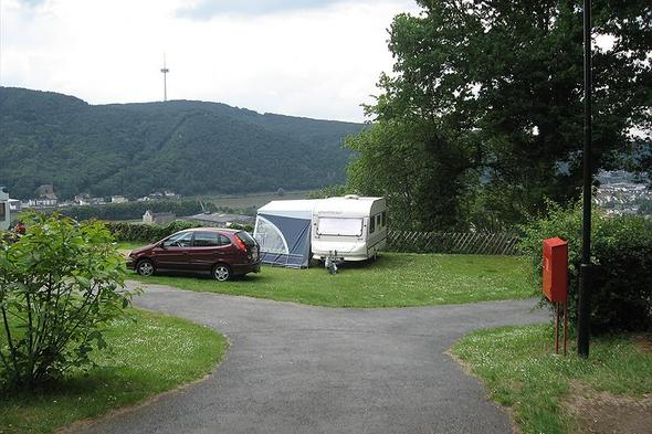 Campsite Burg Lahneck in Lahnstein.