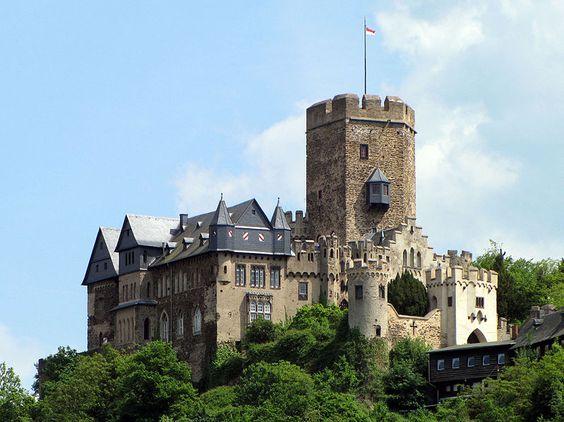 Burg Lahneck (Lahnstein, Germany).
