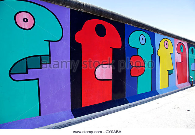 Remainder Berlin Wall East Side Stock Photos & Remainder Berlin.