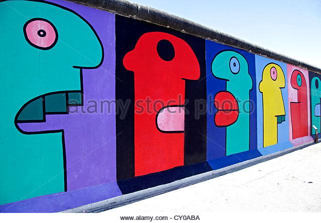 Remainder Berlin Wall East Side Stock Photos & Remainder Berlin.