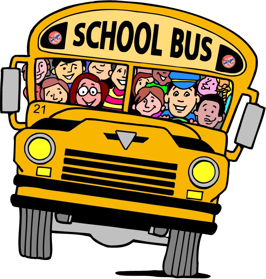 School bus side view clipart.