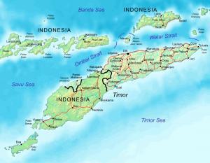 East Timor Map Clip Art Download.