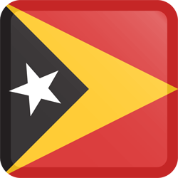 East Timor flag clipart.