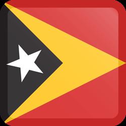 East Timor flag clipart.