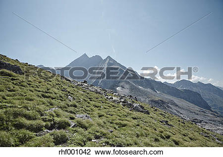 Stock Photo of Austria, East Tyrol, Hohe Tauern National Park.