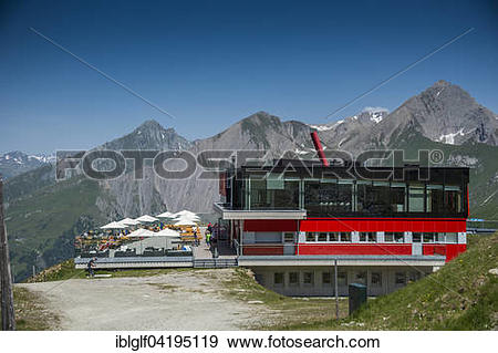Stock Photograph of Adler Lounge and Kendlspitze, High Tauern.