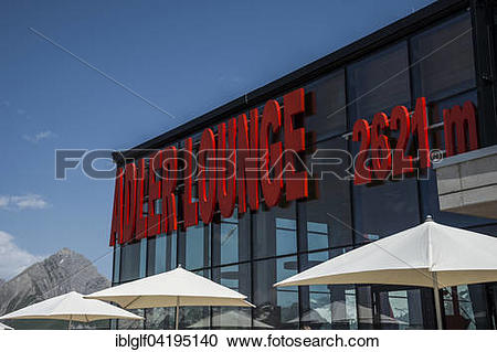 Stock Photography of Adler Lounge, High Tauern National Park, East.