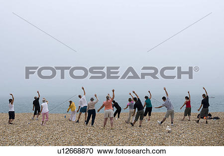 Stock Photography of England, East Sussex, Eastbourne. An exercise.
