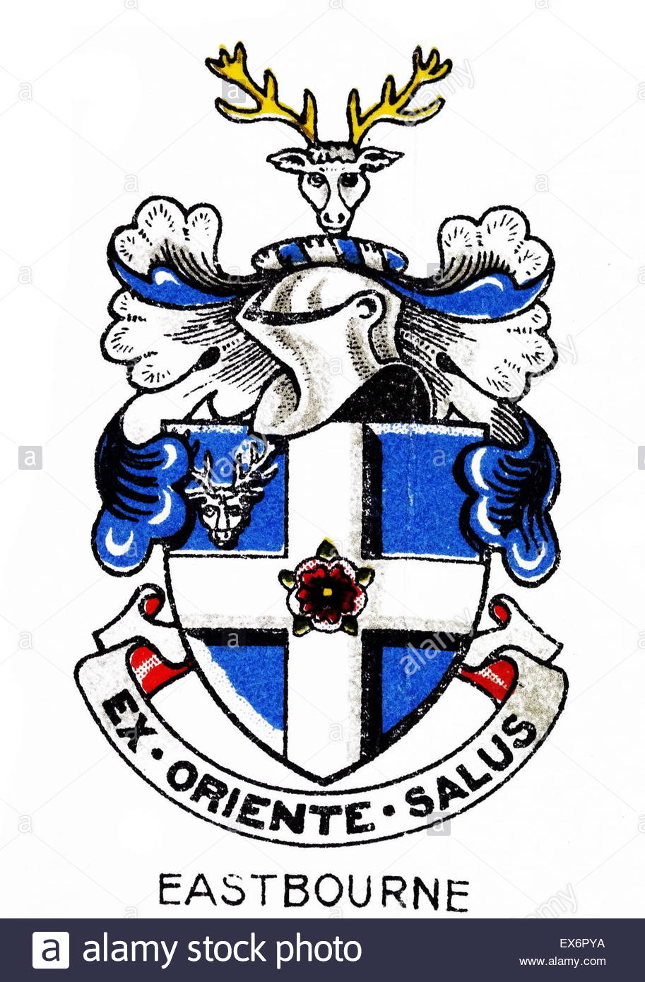 Emblem Of Eastbourne College, Eastbourne, East Sussex Is A British.