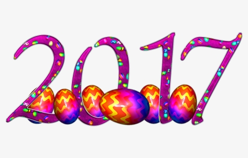 Free New Years 2017 Clip Art with No Background.