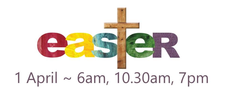 Easter Sunday Service.