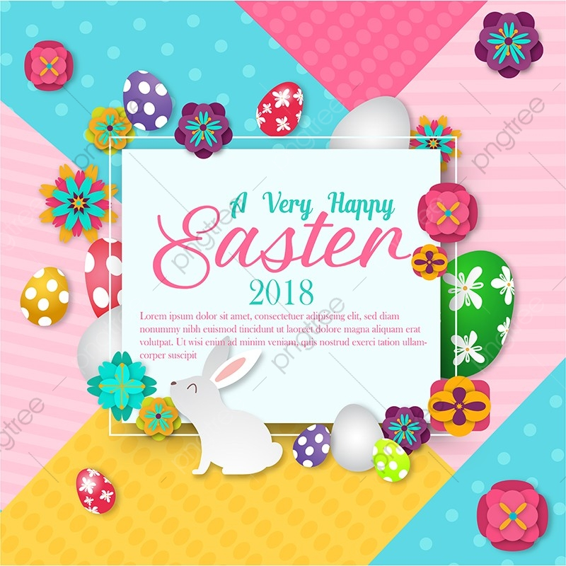 Easter Graphic 2018, Easter, 2018 Graphics, Red PNG and Vector with.