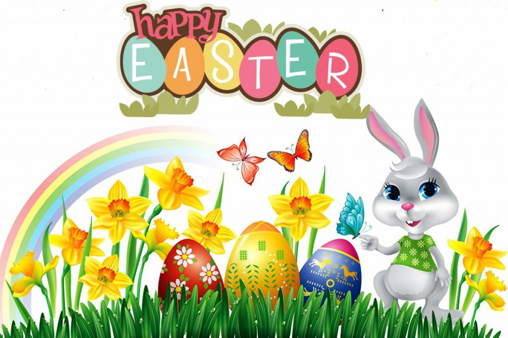Happy Easter 2019 Clip Arts Images.