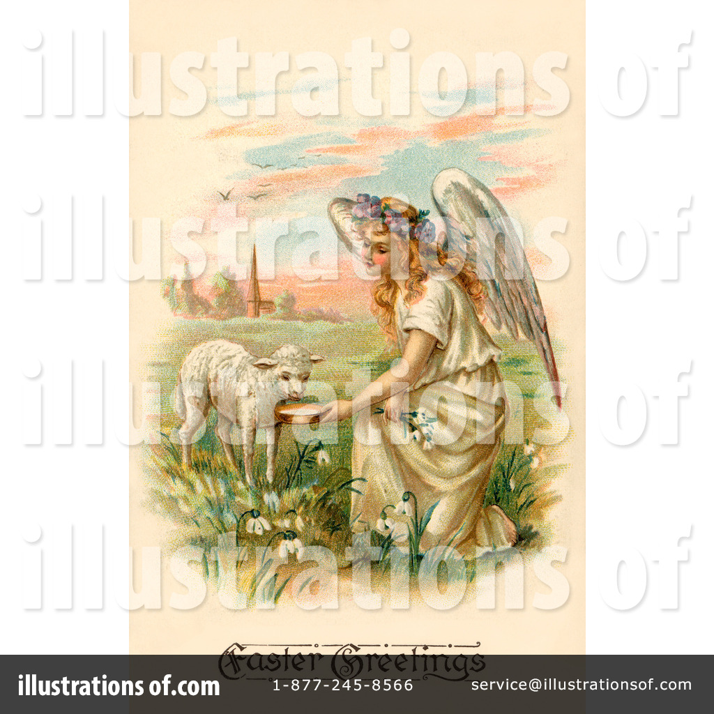 Easter Angel Clipart #35511.