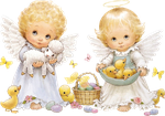 Cute Easter Angels Clipart by joeatta78 on DeviantArt.