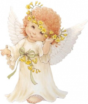 Free Baby Angel Clipart.