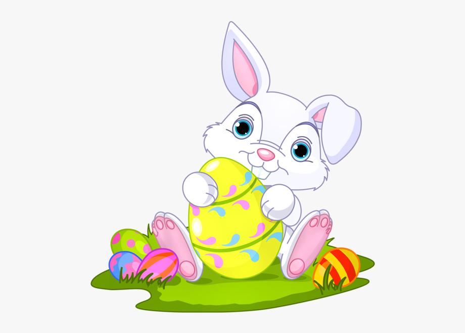 Easter Bunny Happy Easter Clip Art Free Bunny Eggs.