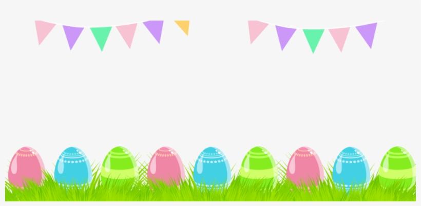 Easter Banner Png Image.