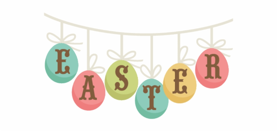 Easter Banner Cliparts.