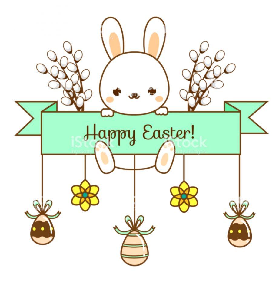 Easter Banner Clip Art.