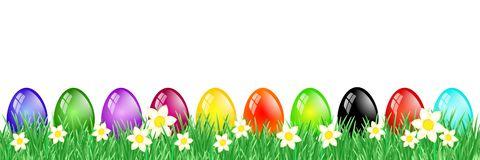 Easter clip art banner.